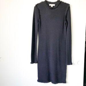 Michael Kors Navy Wool Dress